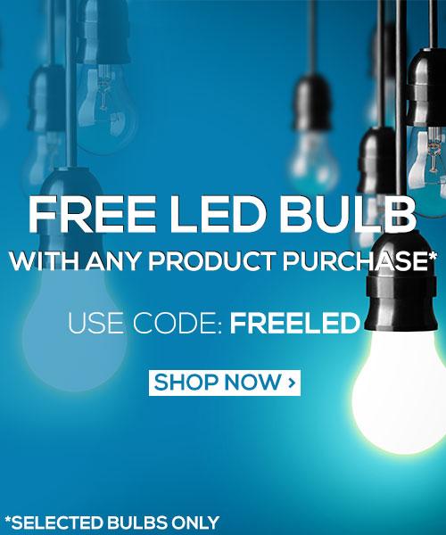 Value LED Bulb Promo