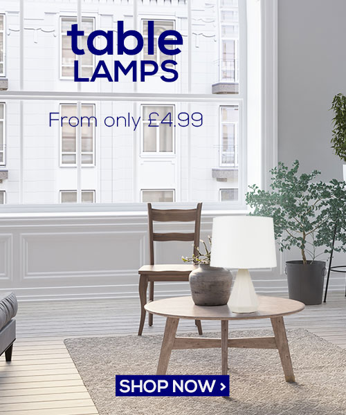 Table Lamps filler banner Value 25.01.19