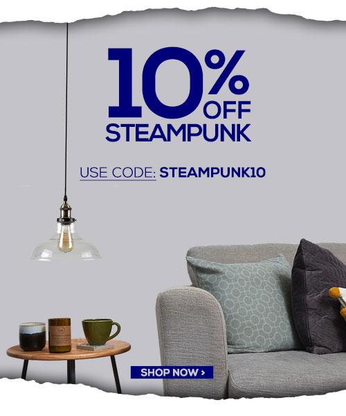 10% Off Steampunk Styles