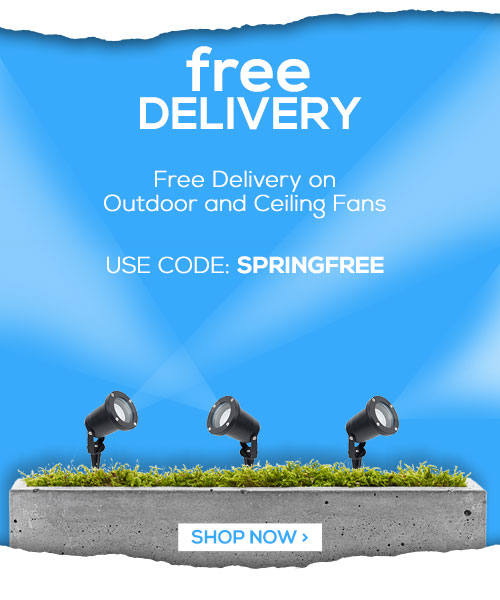 Free Delivery on Outdoor and Ceiling Fans