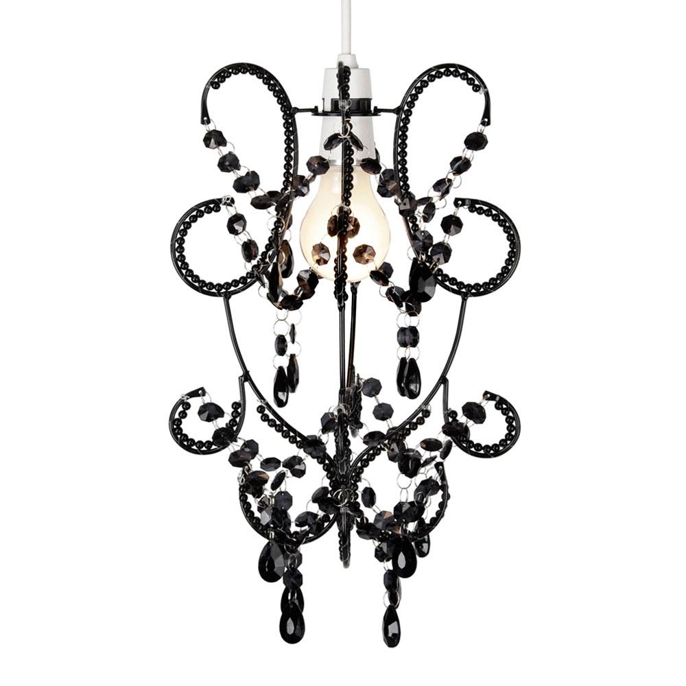 Modern Black Ceiling Light Pendant Lamp Shade Chandelier Lampshade ...