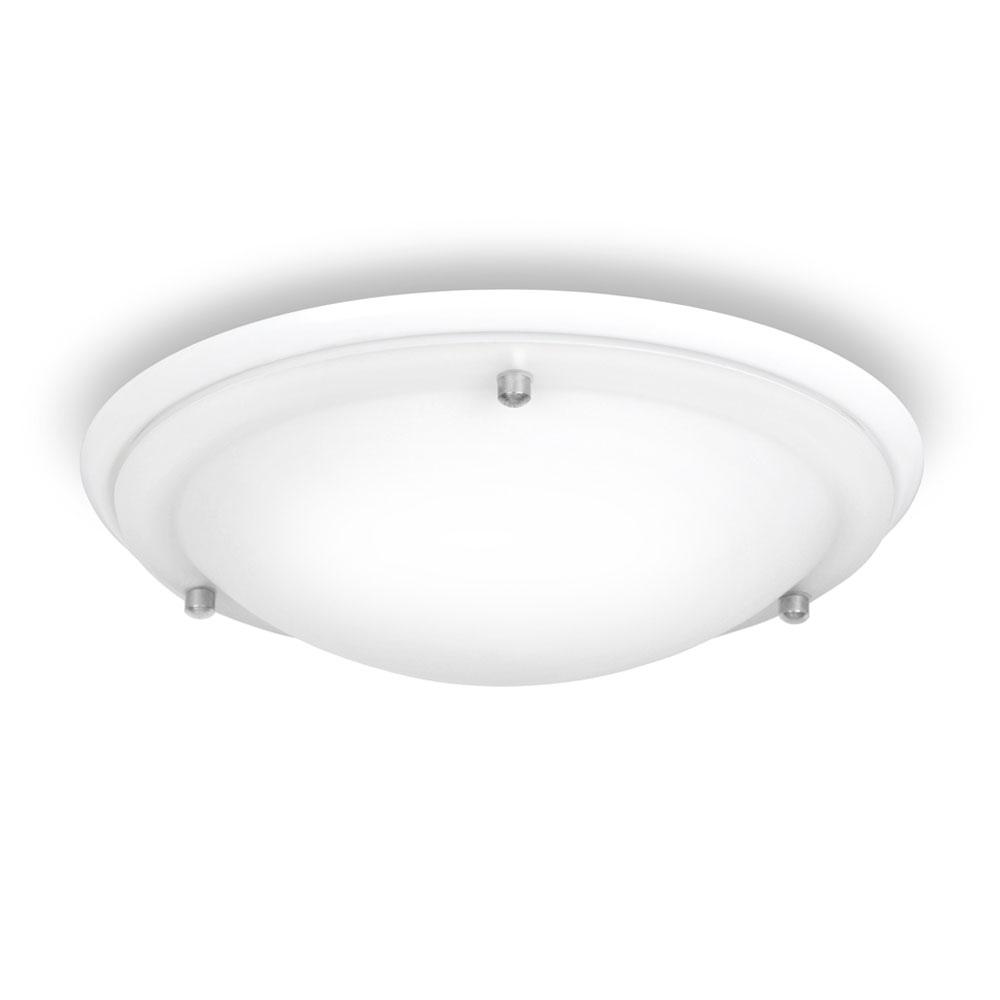 Modern gloss white glass flush bathroom ip44 ceiling light fitting minisun light aloadofball Choice Image