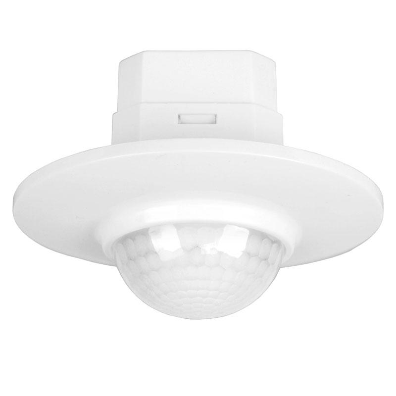 360 Degree Recessed PIR Ceiling Presence Motion Sensor Detector Light Switch