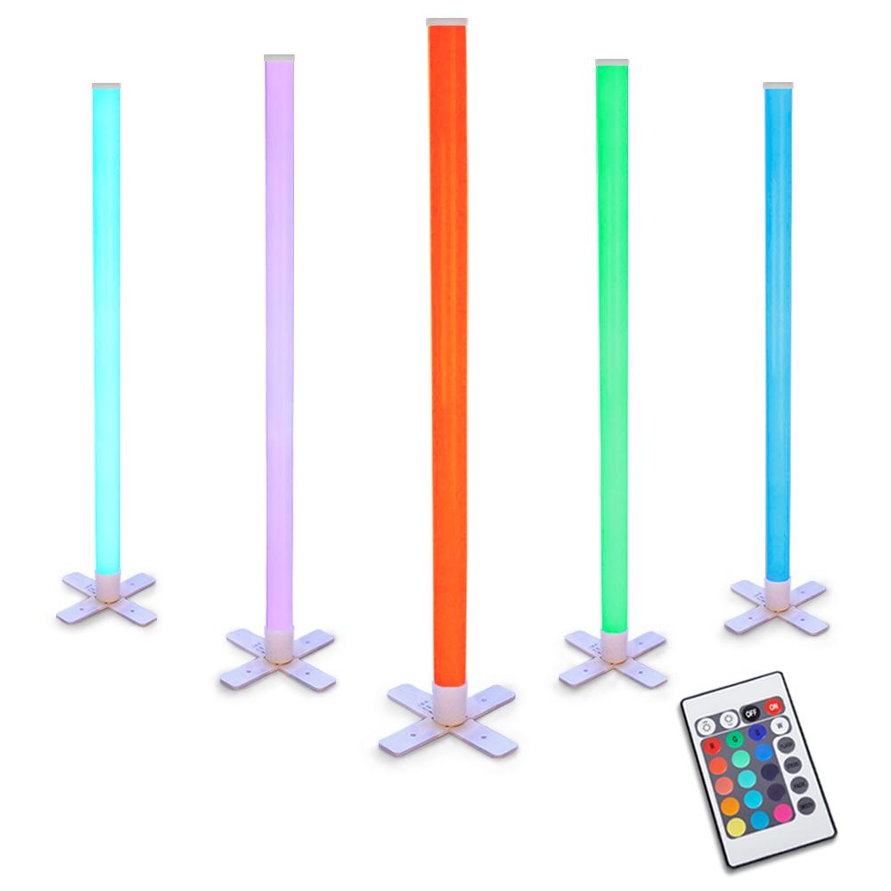 Remote Controlled Rgb Led Disco Stick Tube Light Colour