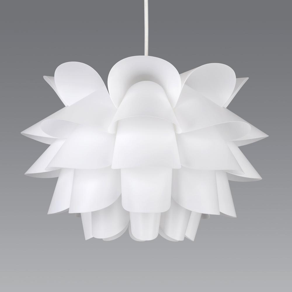 Modern White Artichoke Style Funky Ceiling Pendant Light