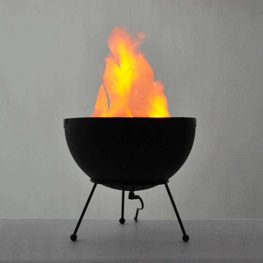 Modern Novelty Led Artificial Silk Flame Fire Glow Effect