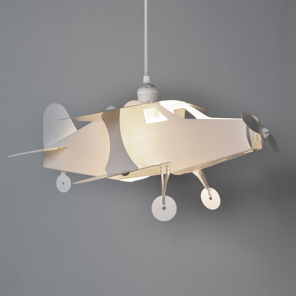 Childrens aeroplane pendant shade value lights mozeypictures Image collections
