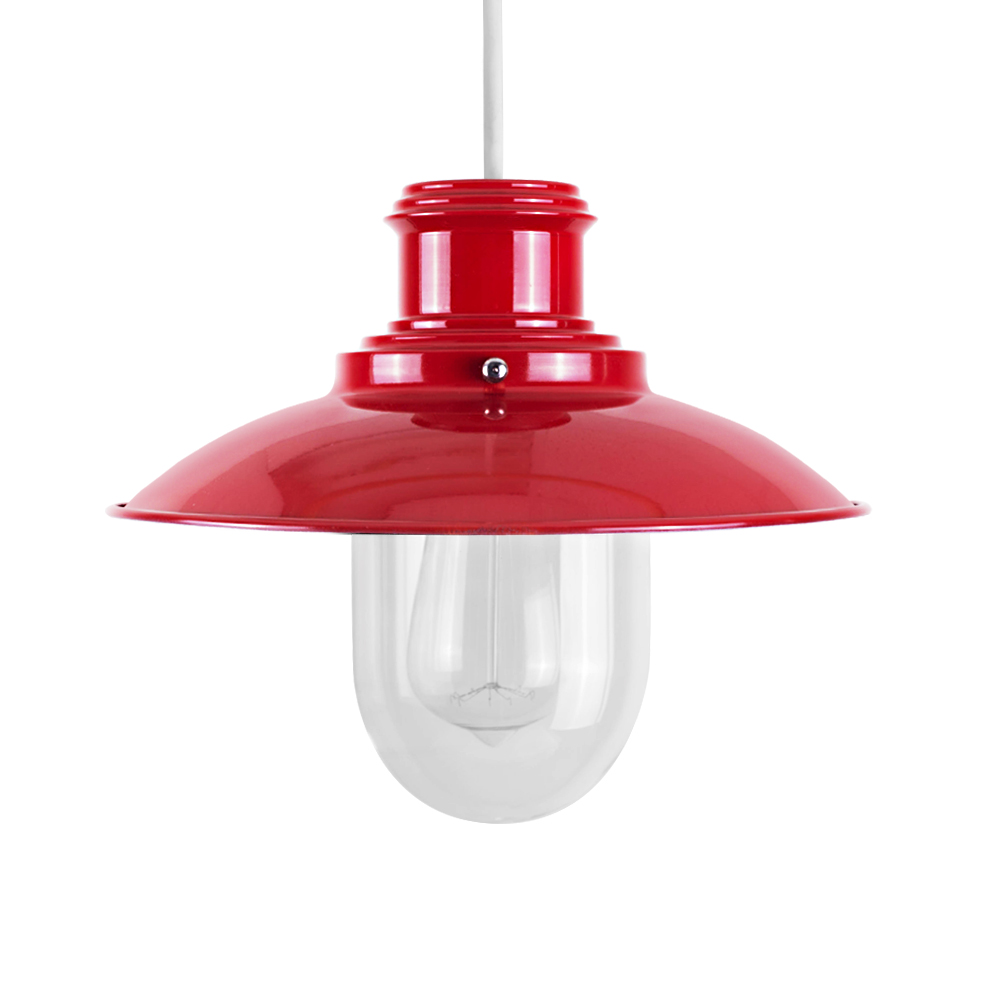 Red Light Shade Ceiling Lights Chandeliers Mince His