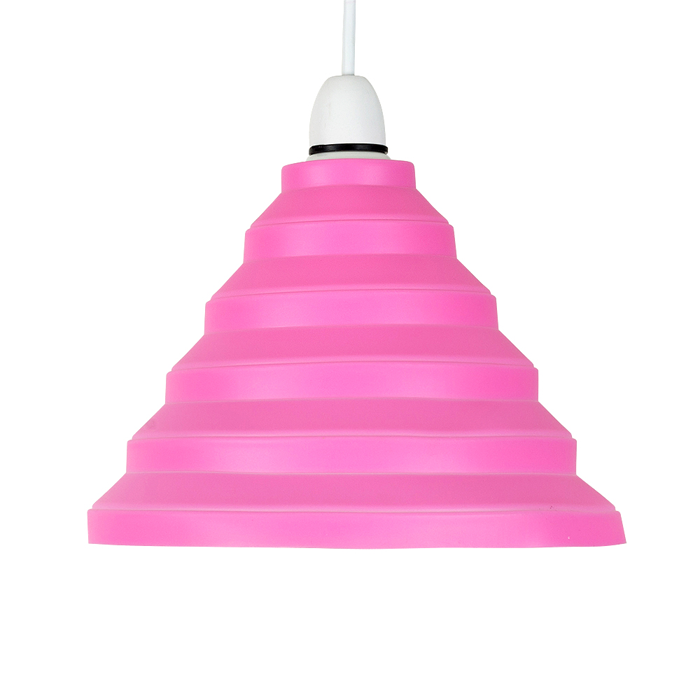 modern pink silicone ceiling light shade pendant lighting