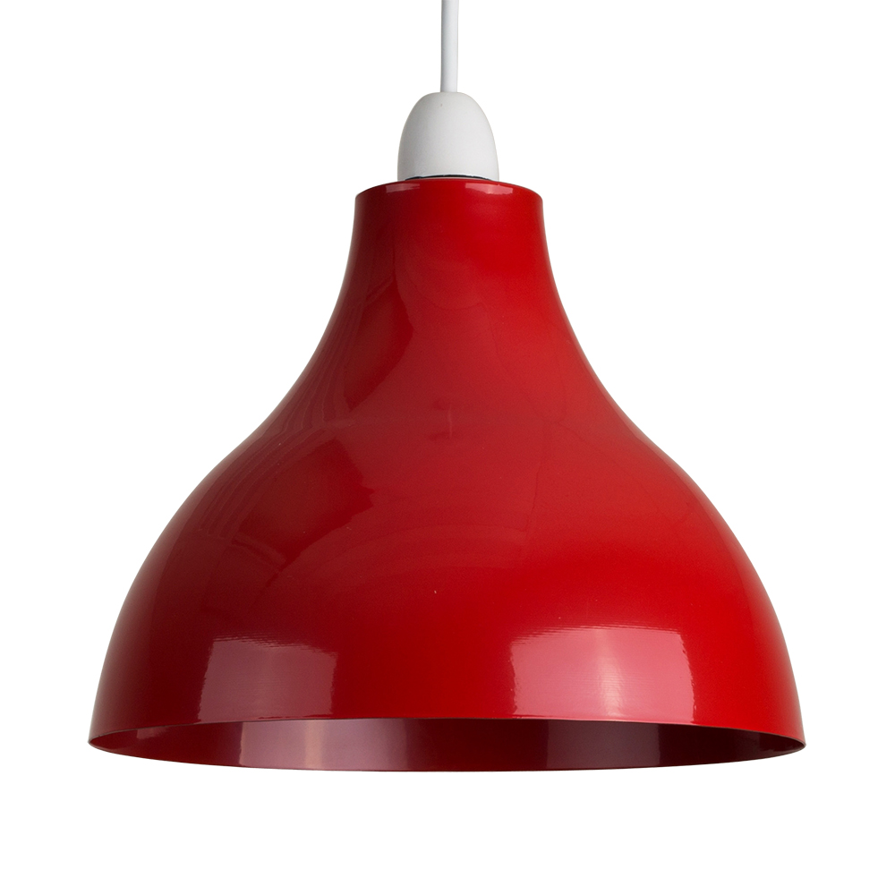 Industrial Retro Style Ceiling Pendant Light Shade Gloss