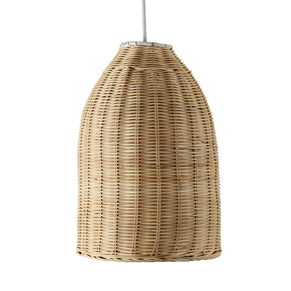 Modern Wicker Basket Ceiling Pendant Light Shade Lounge
