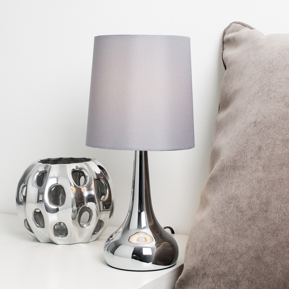 Chrome Dimmable Touch Table Lamps