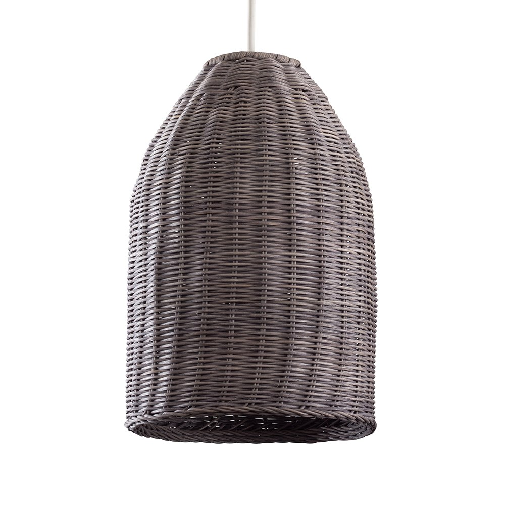 Chianti Wicker Pendant Shade  This simple shade is great for an living or bedroom space
