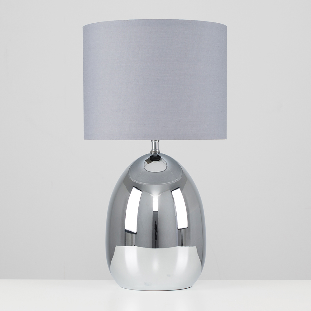 modern chrome touch table lamp