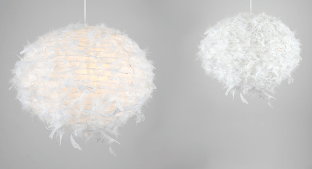 Feather Ceiling Shade