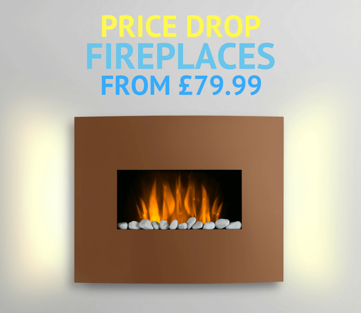 Fireplaces and fire surrounds now starting from £79.99