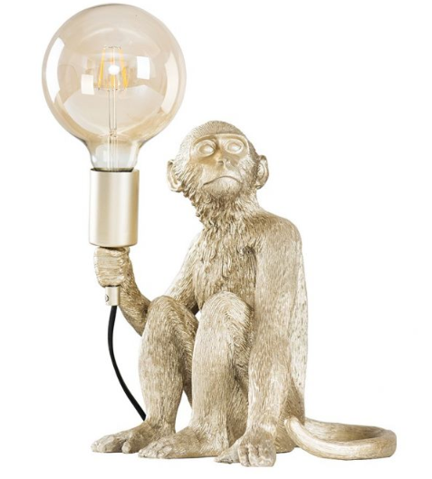 George Monkey Table Lamp
