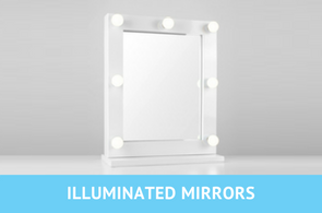illuminated vanity mirrors images