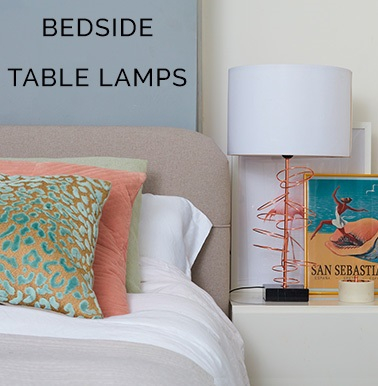 Bedside Table Lamp -