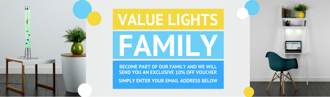 Value Lights Family Get 10% Off