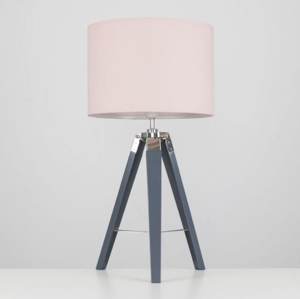 Bringing In Blush Pink Lighting Value, Pink Grey And White Lamp Shade