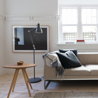 Example of using light wood and lighter colours gives your room a cooler feel and darker wood to compliment darker furniture colours, such as Burnt Orange or Forest Green.