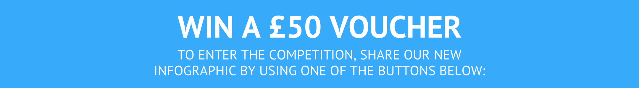 Win a £50 Voucher with our social media comp